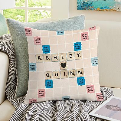 Scrabble®  Couple Cushion