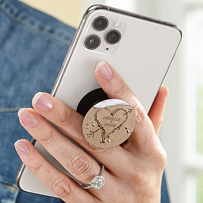 Heart in Sand PopSockets PopGrip®
