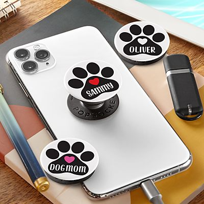 Paw Print PopSockets PopGrip®