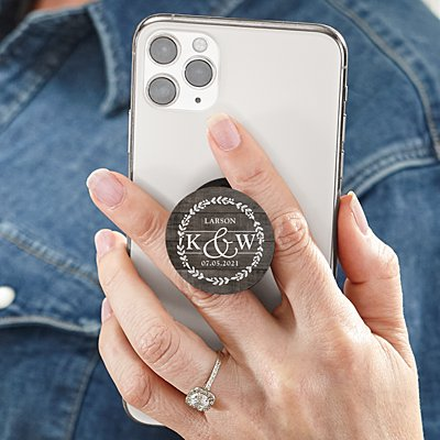 Sophisticated Couple PopSockets PopGrip®
