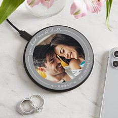 Coordinates Photo Wireless Charger