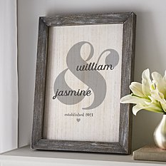 Just the Two of Us Barnwood Sign