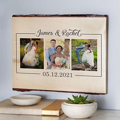 Photo Memories Rustic Wood Sign
