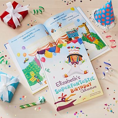i See Me!® My Superfantastic Birthday Adventure Book