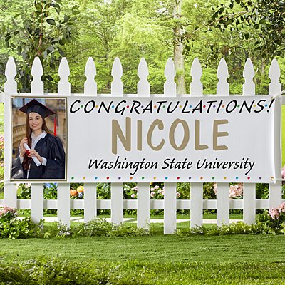 Senior Pride Graduation Photo Banner
