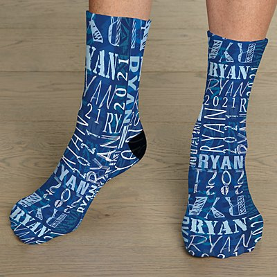 Signature Style Graduation Socks