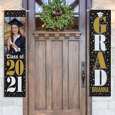 Stand Out Star Graduation Photo Banner Set