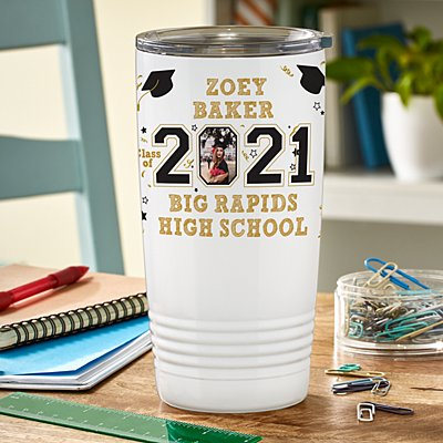 Year Of The Graduate Photo Insulated Tumbler