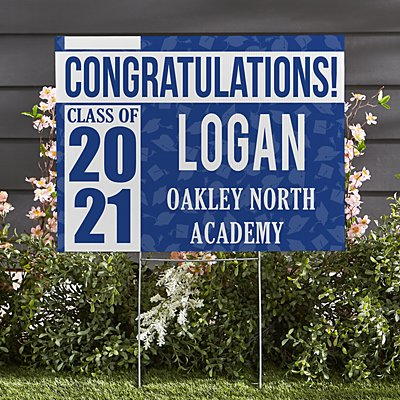 Best in Class Graduation 2-Sided Yard Sign