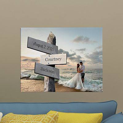 All Roads Lead to Us Photo Canvas