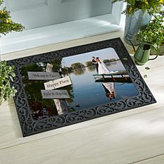All Roads Lead to Us Photo Doormat