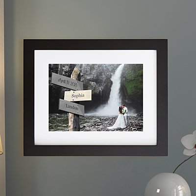 All Roads Lead to Us Photo Framed Print - 11x14