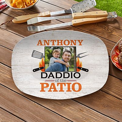 Daddio Of The Patio Photo Platter