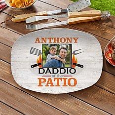 Daddio Of The Patio Photo Platter