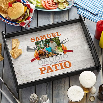 Daddio Of The Patio Photo Serving Tray