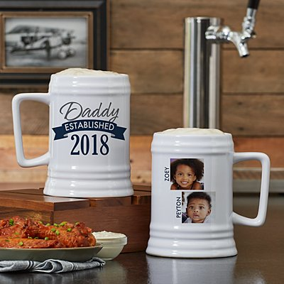 Established Photo Beer Stein