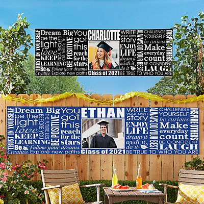 Dream Big Graduation Photo Banner