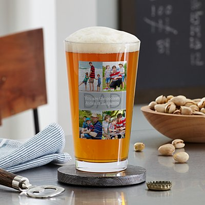 Photo Expressions Pint Beer Glass