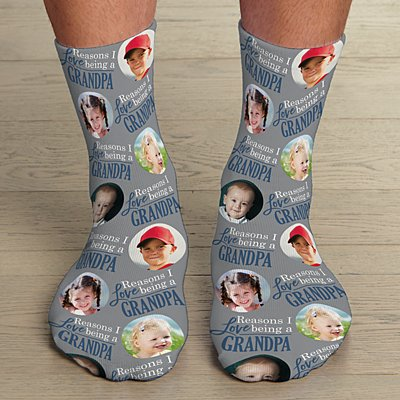 Reasons Why™ Photo Socks