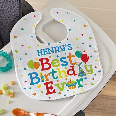 Best Birthday Ever Bib