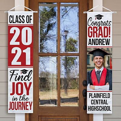 Joy In The Journey Graduation Photo Banner Set