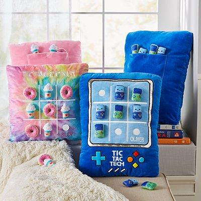 Plush Tic Tac Toe Pillows
