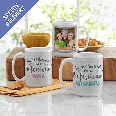 Professional Grandparent Photo Mug