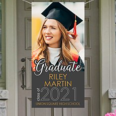 Picture Perfect Photo Grad Banner-4 Ft