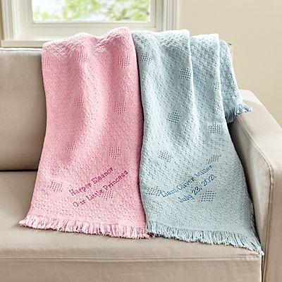 Honeycomb Baby Blanket