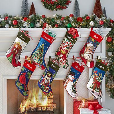 Needlepoint Personalized Stocking