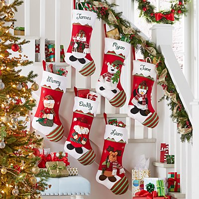 Winter Wonderland™ Personalised Stocking