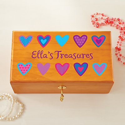 All Her Treasures with Lock & Key