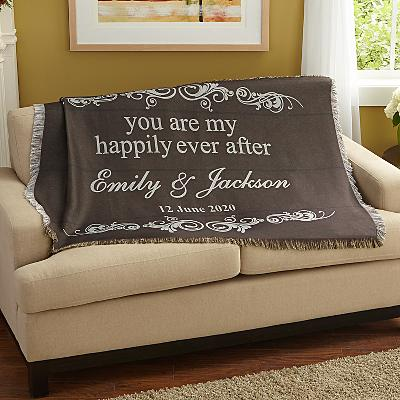 You Are My Happily Ever After Throw