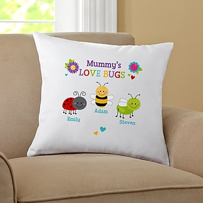 Love Bugs Sofa Cushion