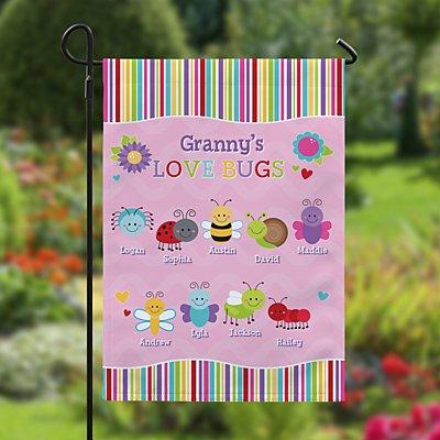 Love Bugs Garden Flag