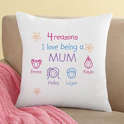 Pastel Reasons Why™ Sofa Cushion