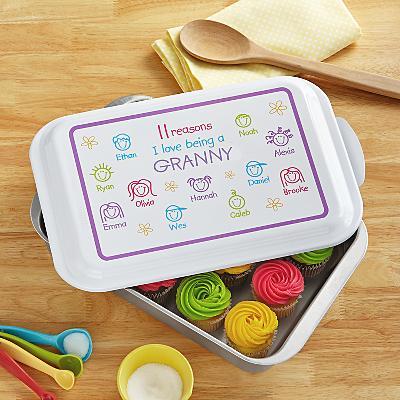 Pastel Reasons Why™ Baking Pan