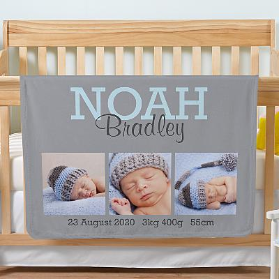 Our Sweet Baby Photo Blanket