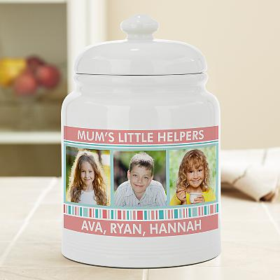 Family Fun Photo Treat Jar