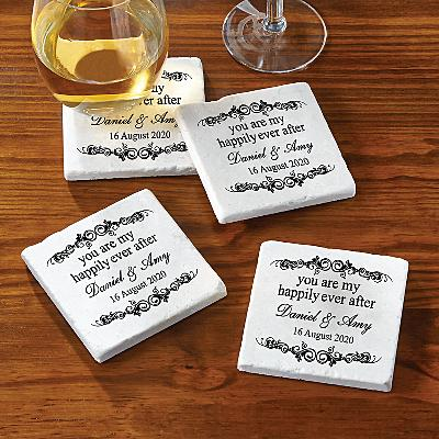 You Are My Happily Ever After Coasters