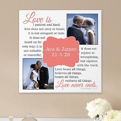 Love Is…Photo Canvas