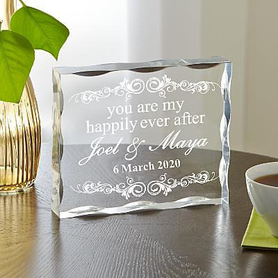 You Are My Happily Ever After Acrylic Block