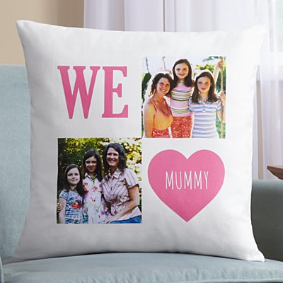 Filled With Love Photo Sofa Cushion
