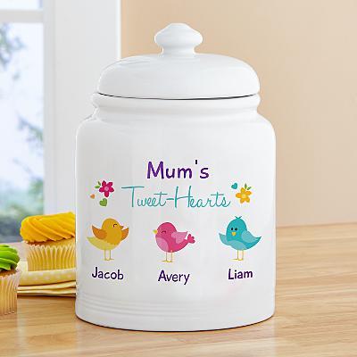 Her Tweethearts Treat Jar