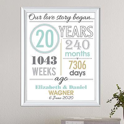 Timeless Love Story Print