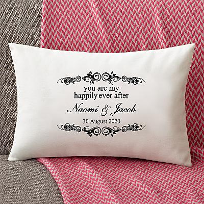 You Are My Happily Ever After Rectangle Cushion