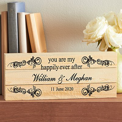 You Are My Happily Ever After Mini Wood Pallet