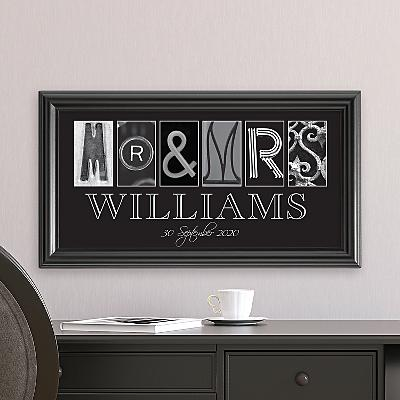 Mr. & Mrs. Architectural Photo Print