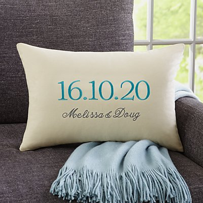 The Big Day Rectangle Cushion