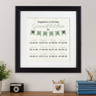 A Grandparents Love Framed Print